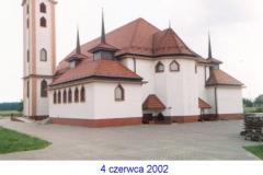 tył kościoła