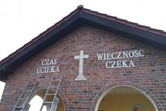 nierdzewka na kaplicy